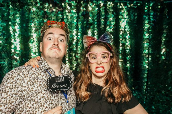 cotswolds and birmingham wedding photo booth hire