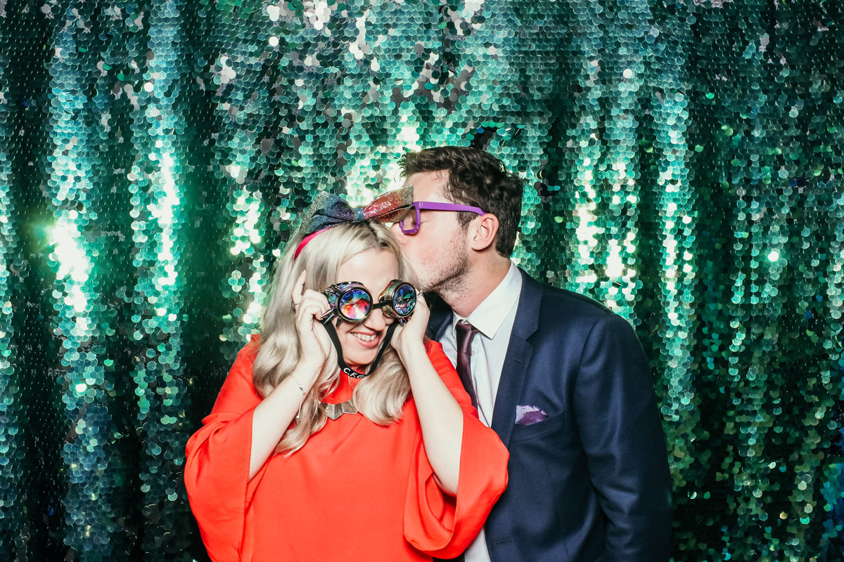 elmore court wedding in Gloucestershire with Mad Hat Photo Booth