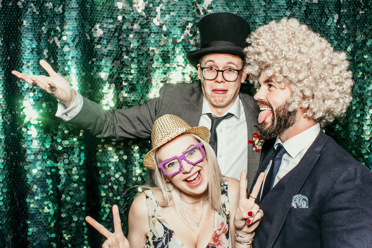 elmore court wedding photo booth hire in stroud