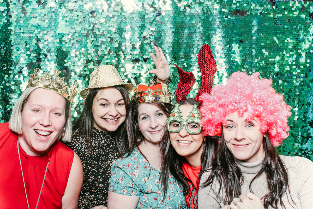 herfordshire photo booth rental for christmas party