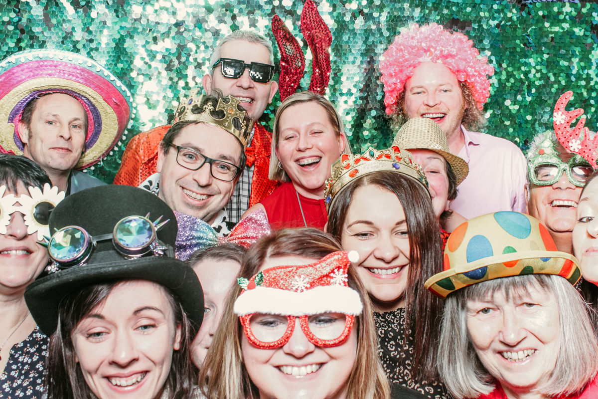corporate event photo booth hire at penyard house