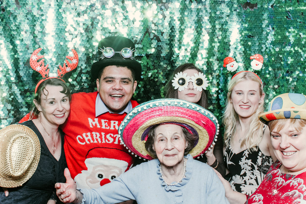 corporate event at penyard house with photo booth hire for evening entertainment