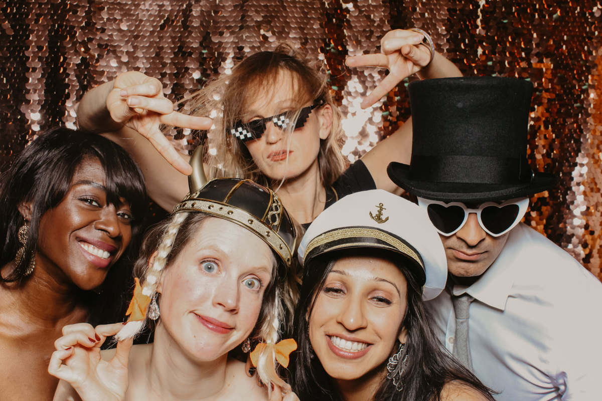 Elmore Court Photo Booth for wedding events