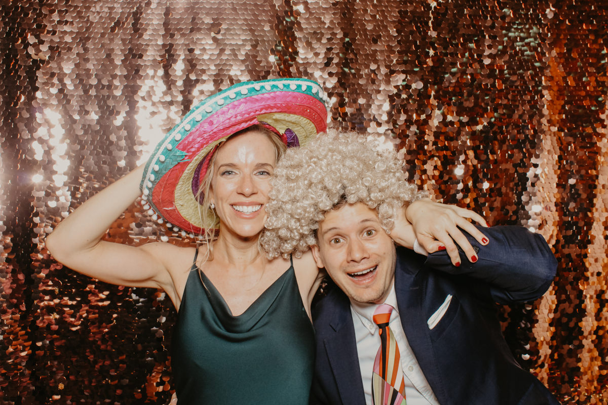 elmore court wedding photo booth hire with Mad Hat Photo booth
